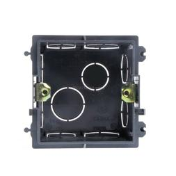 UK 86-Type PVC Junction Box Wall Mount Cassette For Switch S