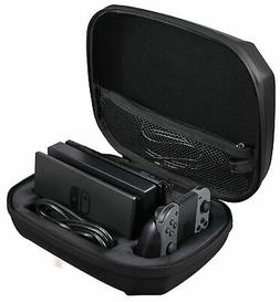 AmazonBasics Ultimate Storage Case for Nintendo Switch - Bla
