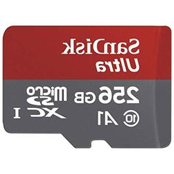 SanDisk 256GB Ultra MicroSDXC UHS-I Memory Card with Adapter