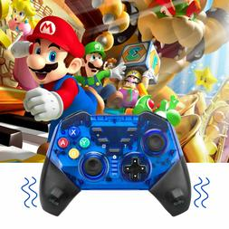 Upgraded Bluetooth Pro Controller Gamepad Rechargable for Ni