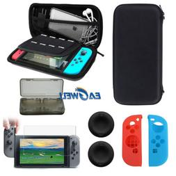 US For Nintendo Switch 3in1 /5in1 Carry Hard Shell Pouch Bag
