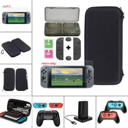 US For Nintendo Switch Carry Bag Case/Glass Film/Controller