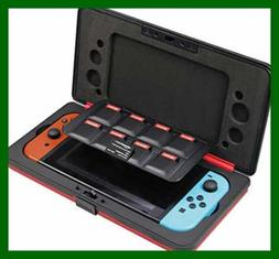 Vault Case For Nintendo Switch RED Video Game Accessories