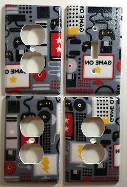 Video Games & Computers Light Switch Plate Outlet Cover Wall