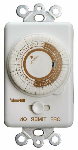 Wall Woods 59745wd 24 Hour Timer Light Mechanical Converts S