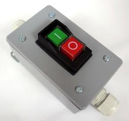 Water Resistant Magnetic On-Off Switch in Gasketed Metal Enc