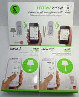Belkin WeMo Switch the Smartphone Home Remote 2 Pack