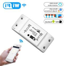 WiFi Smart Light Switch Universal Breaker For Smart Life APP