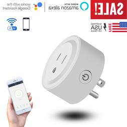 Wifi Smart Plug Outlet Socket Adapter Switch w/ Android & IO