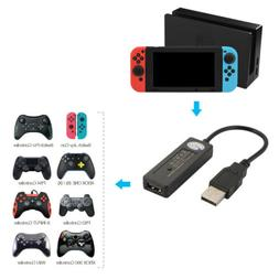 Wired and Bluetooth Controller USB Converter Adapter for Nin