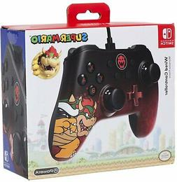 Wired Controller Bowser Nintendo Switch - Brand New