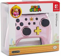 WIRED Controller for Nintendo Switch - Chrome Princess Peach