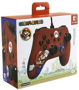 Wired Controller Mario Nintendo Switch - Brand New