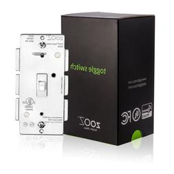 Zooz Z-Wave Plus On/Off Toggle Wall Switch ZEN23 VER.3.0, Di