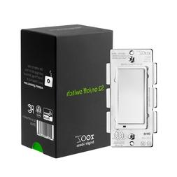 Zooz Z-Wave Plus S2 On/Off Switch ZEN26 with Simple Direct 3
