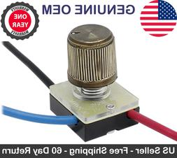 Zing Ear ZE-116 Rotary Canopy Lamp Light Switch 3 Way 3 Wire